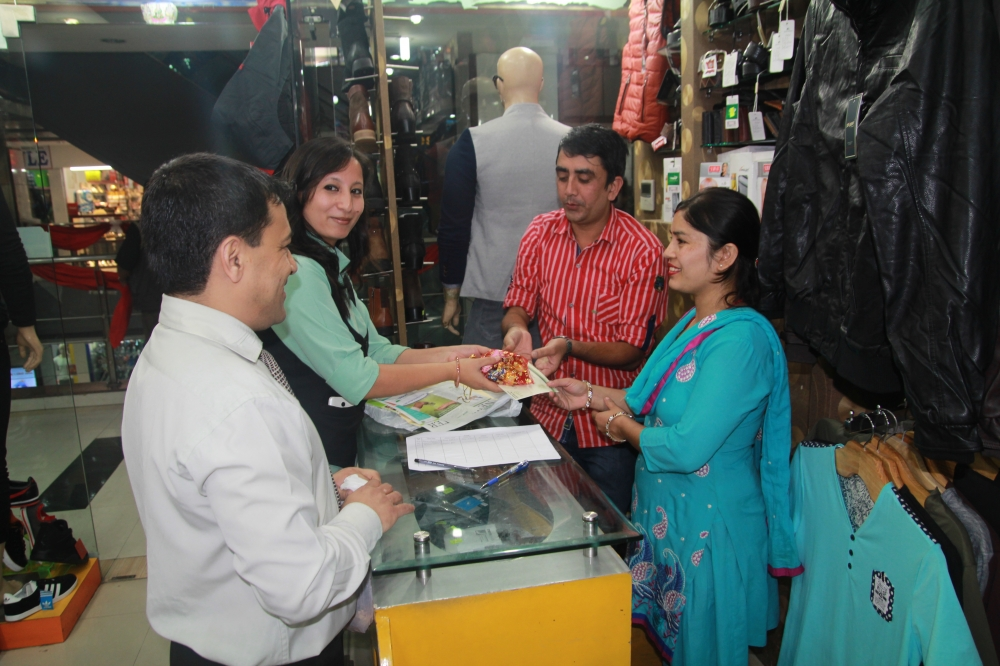 Brihat Team with Shopkeepers